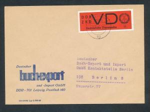 DDR Dienst netter Beleg  ( oo3995   ) siehe scan !