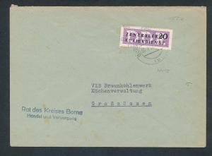 DDR Dienst netter Beleg  ( oo3997   ) siehe scan !