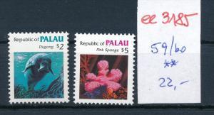 Palau Nr. 59-60 ** ( ee3185 ) siehe scan !
