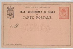 Belgisch-Kongo -Ganzsache   (ka4239  ) siehe scan !