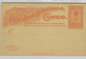 Belgisch-Kongo -Ganzsache   (ka4217  ) siehe scan !