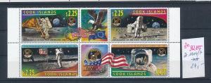 Kosmos- Cook Inseln  zd.1404-7   **  (ze9285  ) siehe scan !