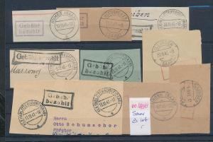 Saar -Vorläufer-Heimat  Lot Ausschnitte ...Gebühr bezahlt...(oo4730  ) siehe scan !