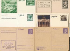 D.-Reich Lot Ganzsachen - discount..... (ze9588  ) siehe scan....