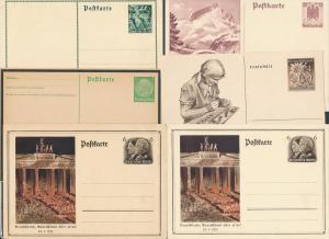 D.-Reich Lot Ganzsachen - discount..... (ze9599  ) siehe scan....