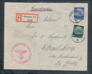 D.-Reich Feldpost -Beleg   (ze9595  ) siehe scan....