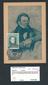 Österreich MC 1947 Franz Schubert... (oo4405 ) siehe scan !
