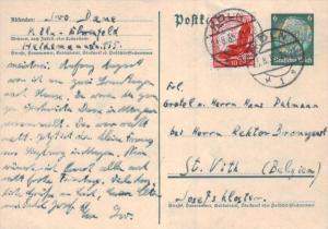 D.-Reich Ganzsache -Stempel Beleg.... (  ka4884  ) siehe scan....!