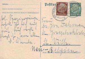 D.-Reich Ganzsache -Stempel Beleg.... (  ka4885  ) siehe scan....!
