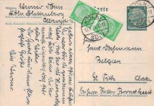 D.-Reich Ganzsache -Stempel Beleg.... (  ka4886  ) siehe scan....!