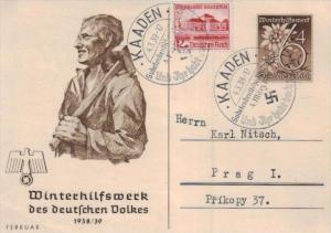 D.-Reich Ganzsache -Stempel Beleg.... (  ka4887  ) siehe scan....!