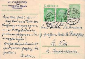D.-Reich Ganzsache -Stempel Beleg.... (  ka4888  ) siehe scan....!