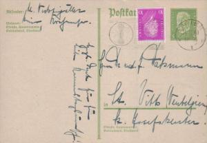 D.-Reich Ganzsache -Stempel Beleg.... (  ka4889  ) siehe scan....!