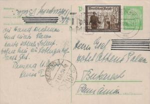 D.-Reich Ganzsache -Stempel Beleg.... (  ka4890  ) siehe scan....!