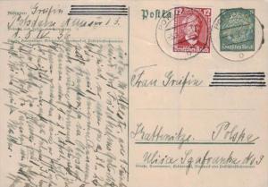 D.-Reich Ganzsache -Stempel Beleg.... (  ka4891  ) siehe scan....!