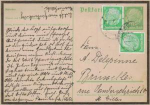 D.-Reich Ganzsache -Stempel Beleg.... (  ka4892  ) siehe scan....!