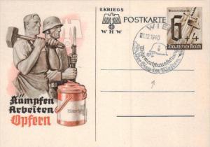 D.-Reich Ganzsache -Stempel Beleg.... (  ka4900  ) siehe scan....!