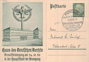 D.-Reich Ganzsache -Stempel Beleg.... (  ka4907  ) siehe scan....!