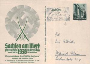 D.-Reich Ganzsache -Stempel Beleg.... (  ka4908  ) siehe scan....!