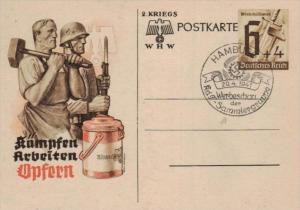 D.-Reich Ganzsache -Stempel Beleg.... (  ka4913  ) siehe scan....!