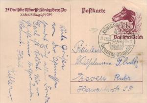 D.-Reich Ganzsache -Stempel Beleg.... (  ka4915  ) siehe scan....!