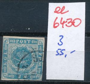 Dänemark  Nr. 3   o- Stempel...  (ee6430 ) siehe scan