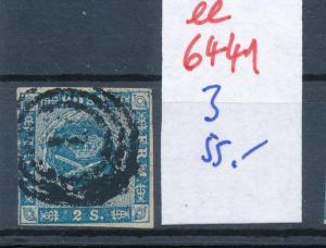 Dänemark  Nr. 3   o- Stempel...  (ee6441 ) siehe scan