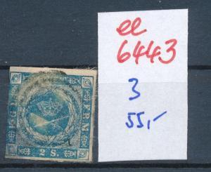 Dänemark  Nr. 3   o- Stempel...  (ee6443 ) siehe scan