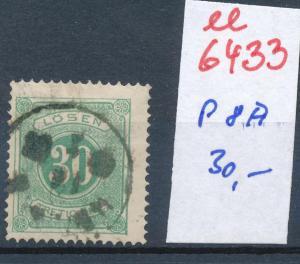 Schweden porto  8 A  o  (ee6433  ) siehe scan