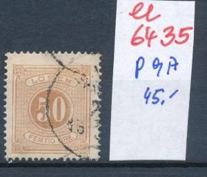 Schweden porto  9 A  o  (ee6435  ) siehe scan