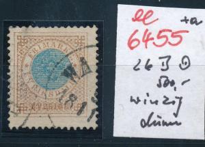 Schweden Nr. 26 B etwas dünn  o-Stempel   (ee6455 ) siehe scan