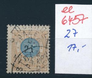 Schweden Nr. 27   o-Stempel   (ee6457 ) siehe scan