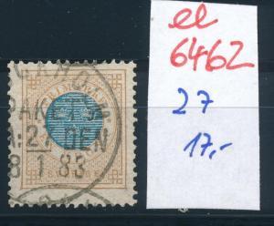 Schweden Nr. 27   o-Stempel   (ee6462 ) siehe scan