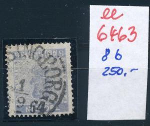 Schweden Nr. 8 b   o-Stempel   (ee6463 ) siehe scan