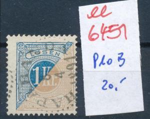 Schweden Nr. Porto 10 B  o    (ee6451 ) siehe scan