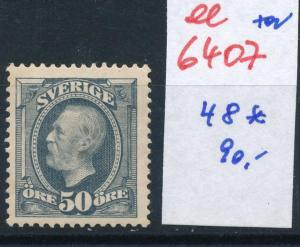 Schweden Nr.  48    *   (ee6407 ) siehe scan