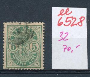 DK   Nr.  32 o    (ee6528 ) siehe scan