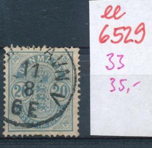 DK   Nr.  33 o    (ee6529 ) siehe scan