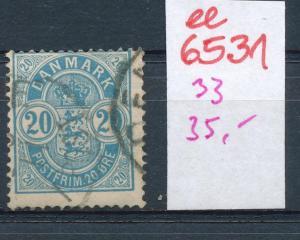 DK   Nr.  33 o    (ee6531 ) siehe scan