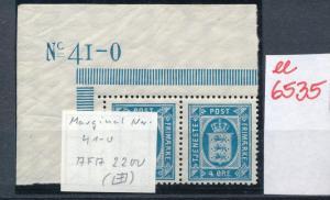 DK   Nr. Bogen Ecke **    (ee6535 ) siehe scan