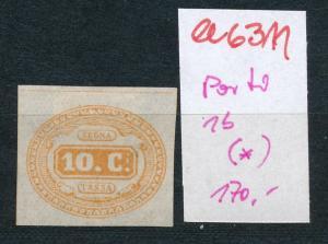 Italien Porto Nr. 1 b (*)     (ee6311 ) siehe scan