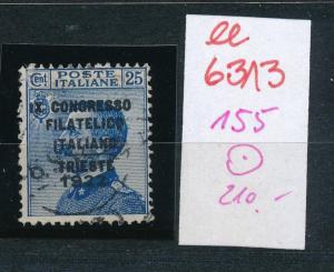Italien Nr. 155  o     (ee6313 ) siehe scan