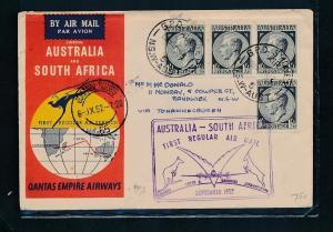 Australien    alter  Beleg ....   (oo5226  ) siehe scan