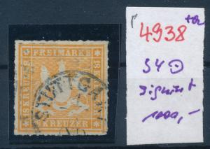 Würtemberg  Nr. 34  o   (p4938  ) siehe scan