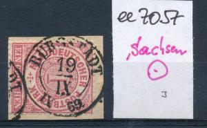 Sachsen-Stempel...   (ee7057  ) siehe scan