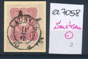 Sachsen-Stempel...   (ee7058  ) siehe scan