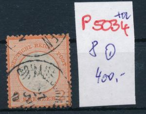 D.-Reich Nr.  8 o   (p5034  ) siehe scan