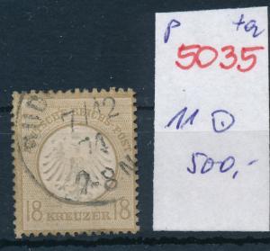 D.-Reich Nr.  11 o   (p5035  ) siehe scan