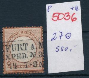 D.-Reich Nr.  27 o   (p5036  ) siehe scan