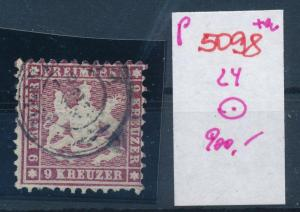 Würtemberg  Nr.  24  o   (p5098  ) siehe scan